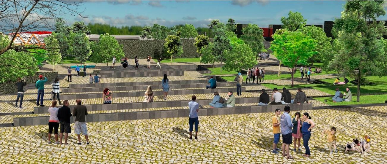 Resultado de imagen para Parque Urbano en la Planta de Asfalto.