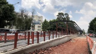 Inicia construcción de la primera estación elevada para la ampliación de la Línea 5 del Metrobús