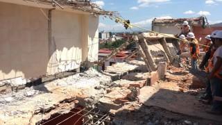 Termina Sobse demolición de inmueble de 8 niveles en Coyoacán