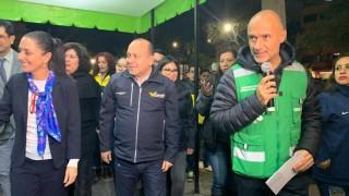 "Inaugura Gobierno Capitalino ""Sendero seguro: camina libre, camina segura"" en Avenida 8, Venustiano Carranza"